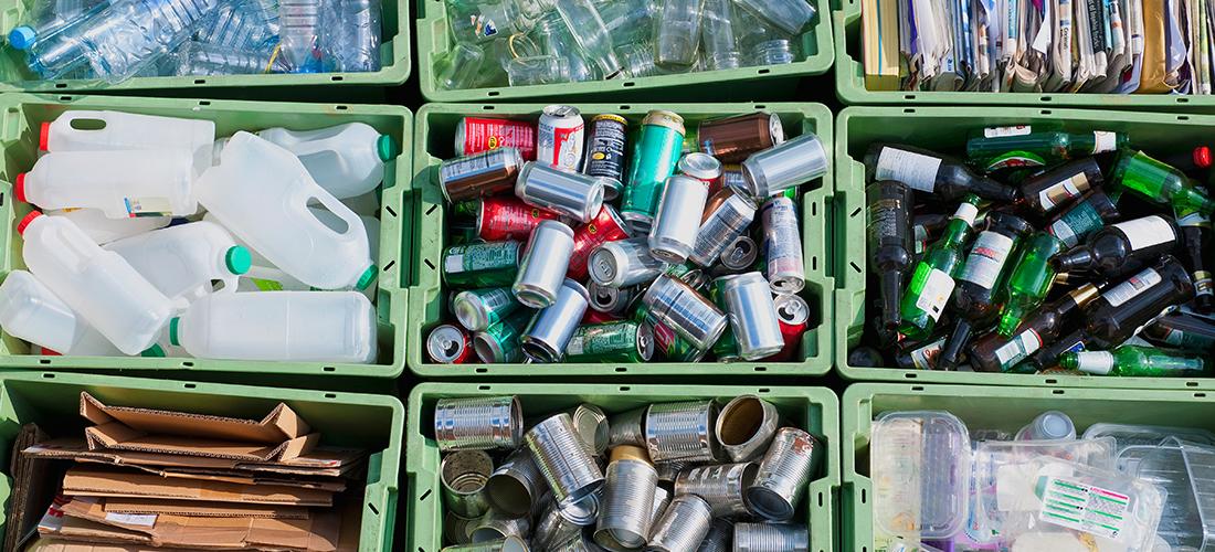 El reciclaje en casa para cuidar el medio ambiente