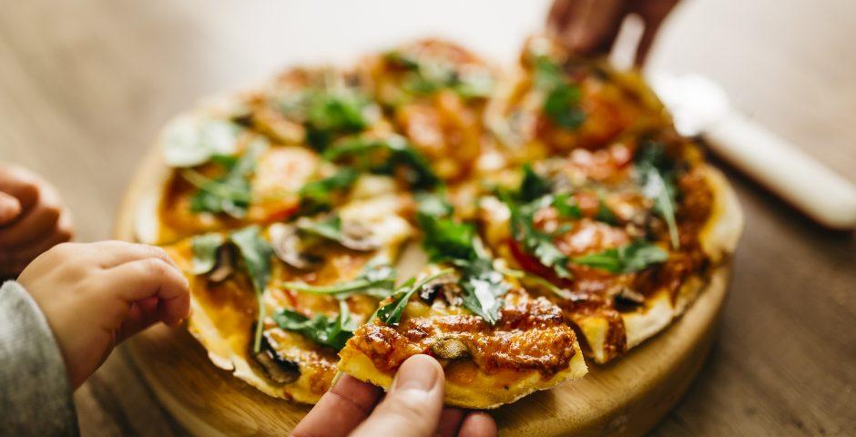 Pizzas que cuidan tu salud