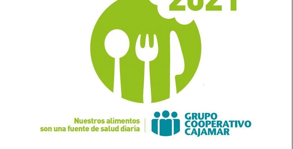 Imagen del Calendario 2021 Los alimentos nos cuidan