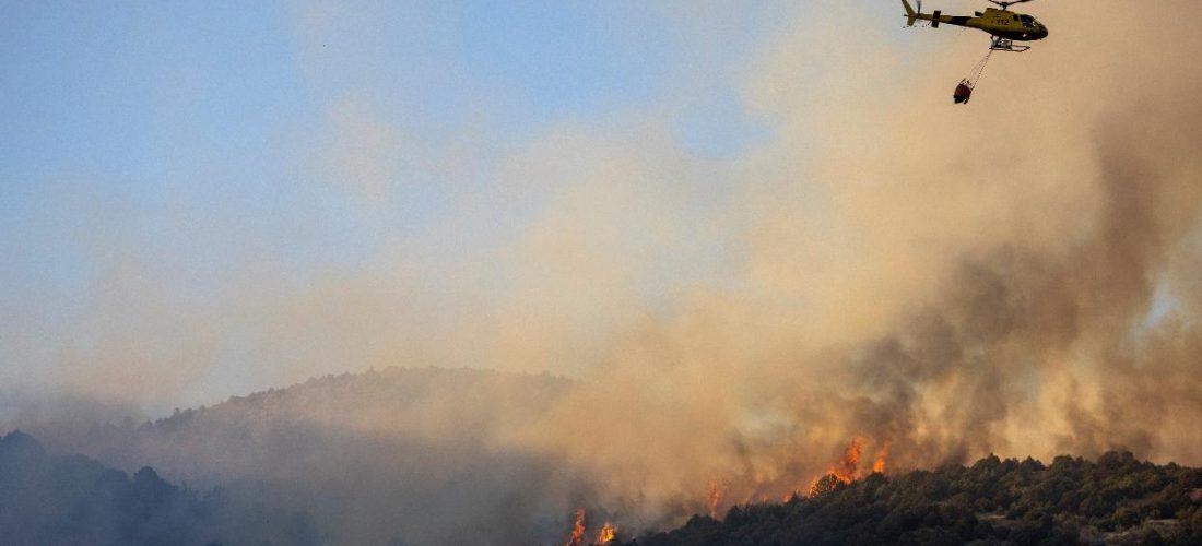 Cajamar habilita 50 millones para los afectados por los incendios de Ávila